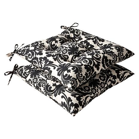 Pillow Perfect Set of 2 Wrought Iron Seat Cushions