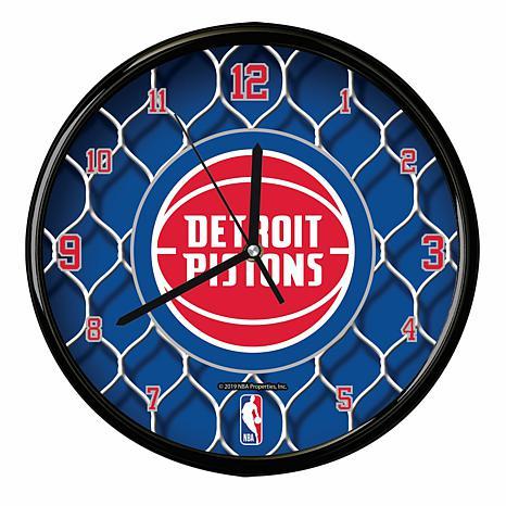 Pistons Net Clock