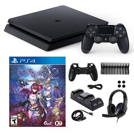 Playstation 4 1TB Core with Nights of Azure 2 and 10 in 1 Accessori...