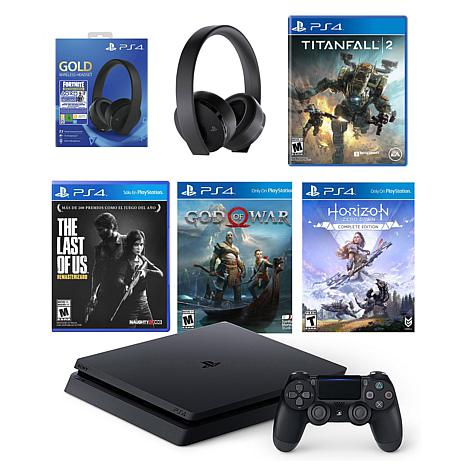 Playstation 4 with Fortnite Headset Bundle and Titanfall 2
