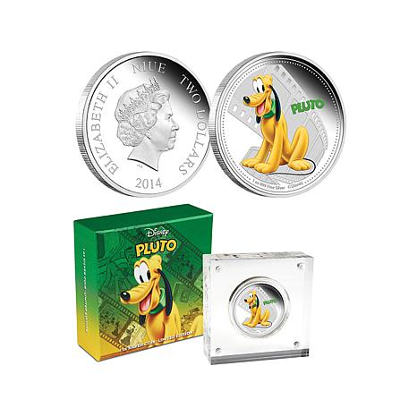 Pluto Silver Limited Edition Coin