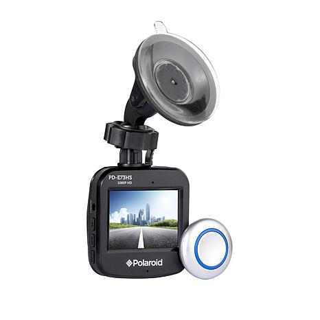 Polaroid Full HD Dash Cam with Photo Capture Remote