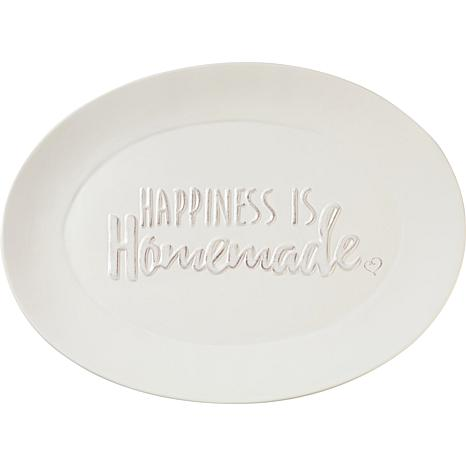 Precious Moments Bountiful Blessings  Happiness Is Homemade Platter
