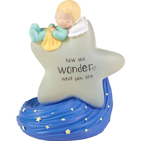 Precious Moments How We Wonder What You Are Gender Reveal Nightlight