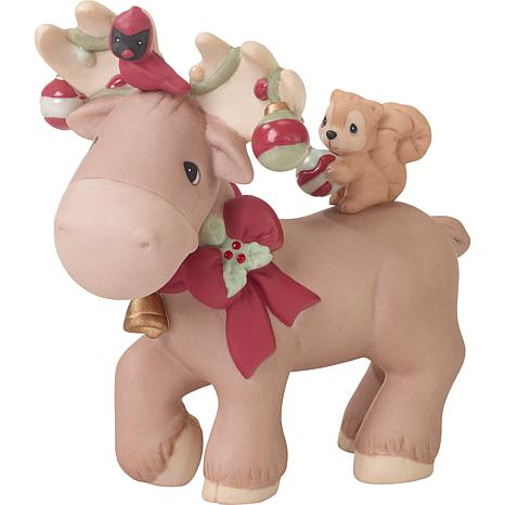 """Precious Moments """"The Moose Wonderful Time Of The Year"""" Figurine"""