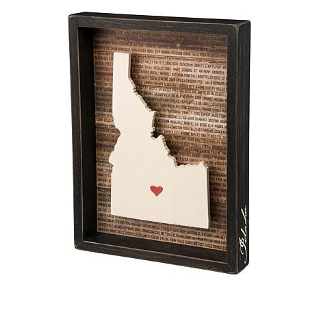 Primitives By Kathy Idaho Box Sign 8507714 Hsn