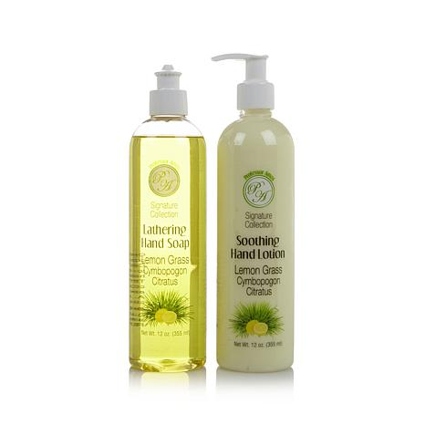 Professor Amos 12 oz. Hand Soap & Lotion Duo - Lemon