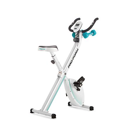ProForm® X-Bike with 2 lb. Weight Set & 2 Workout DVDs