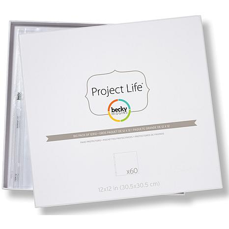 "Project Life 12"" x 12"" Page Protectors"