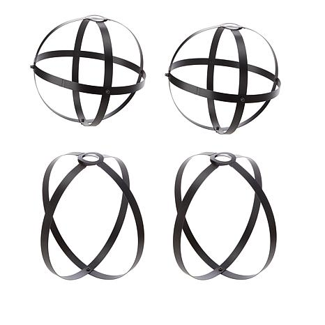 Pull Lights 4-pack Iron Cage Shades