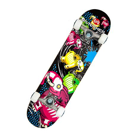 Punisher Complete Skateboard - Elephantasm