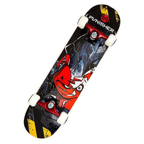 Punisher Complete Skateboard - Teddy