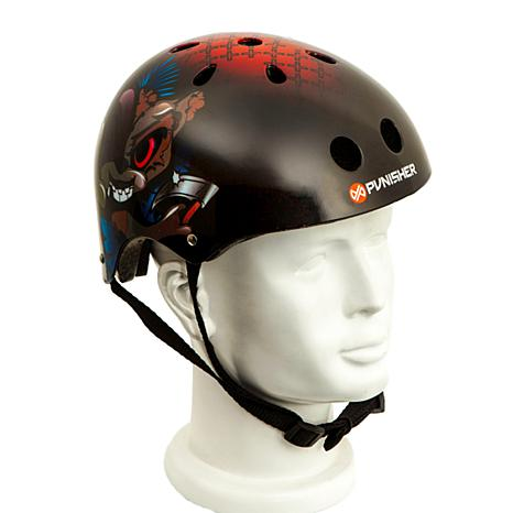Punisher Medium Skateboard Helmet - Ranger