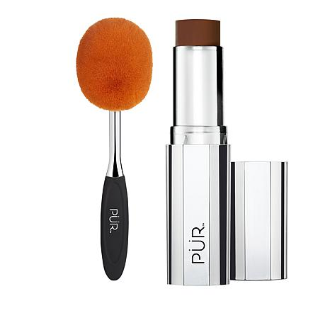 PUR 4-in-1 Deeper Foundation Stick with Brush