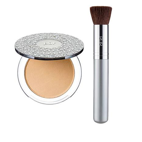 PUR  Bling Pressed Mineral Foundation - Light Tan