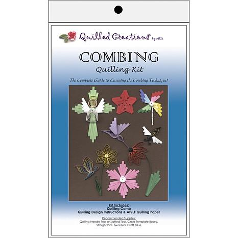 Quilled Creations Quilling Kit - Combing