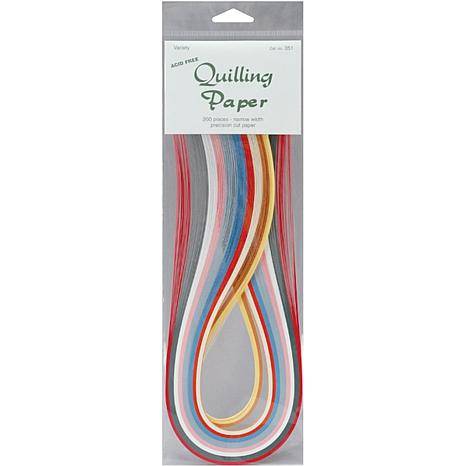 Quilling Paper 1/16-inch 200/Pack - 10 Colors