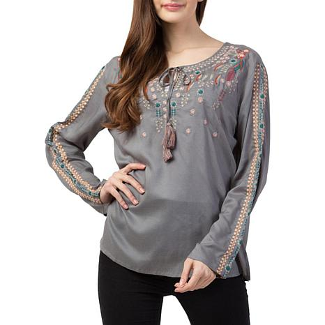 Raj Audrey Embroidered Blouse