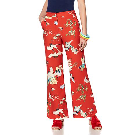 Rara Avis by Iris Apfel Stretch Woven Pants