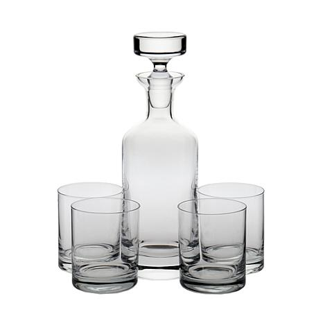 Ravenscroft Crystal 5pc Wellington Old-Fashioned Set