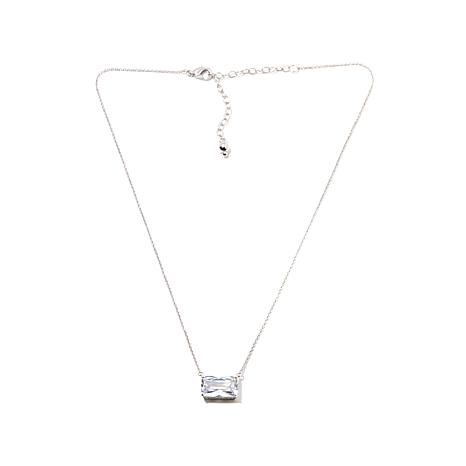 Real Collectibles by Adrienne® CZ East/West Necklace