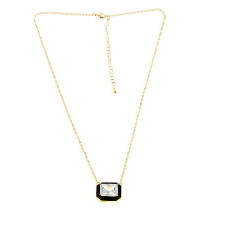 Real Collectibles by Adrienne© Emerald-Cut Necklace