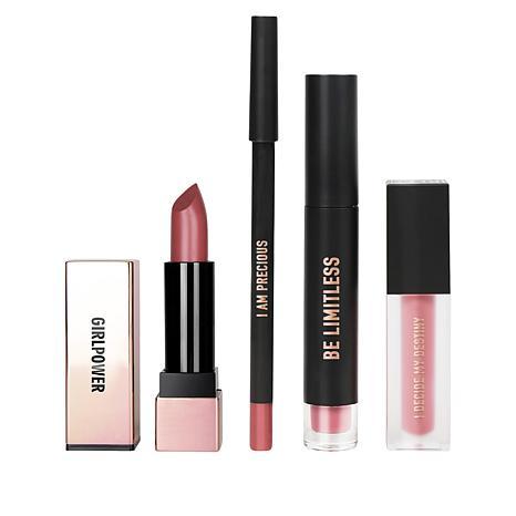 REALHER I Can & I Will Mauve Lip Kit