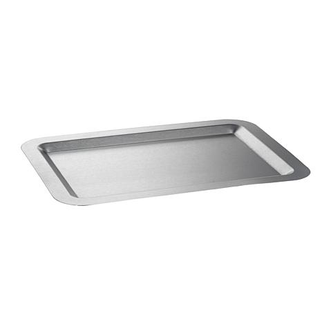 "Rectangular Stainless Steel Tray - 11"" x 16"""