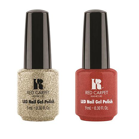 Red Carpet Manicure LED Gel Polish Duo