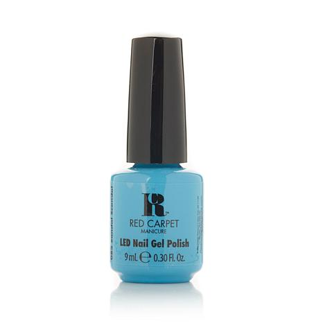 Red Carpet Manicure LED Gel Polish Sandal Scandal