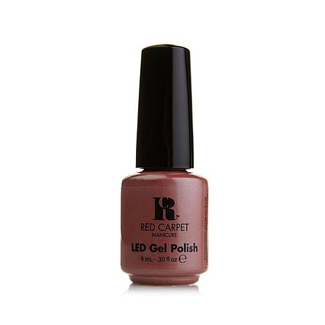 Red Carpet Manicure LED Gel Polish - Shimmery Silouette