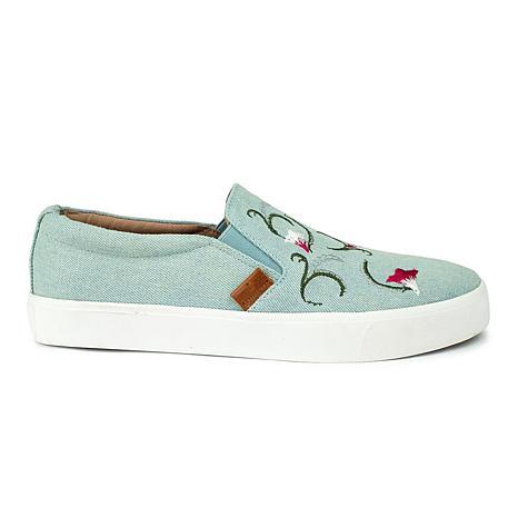 Revitalign Boardwalk Denim Textile Shoe