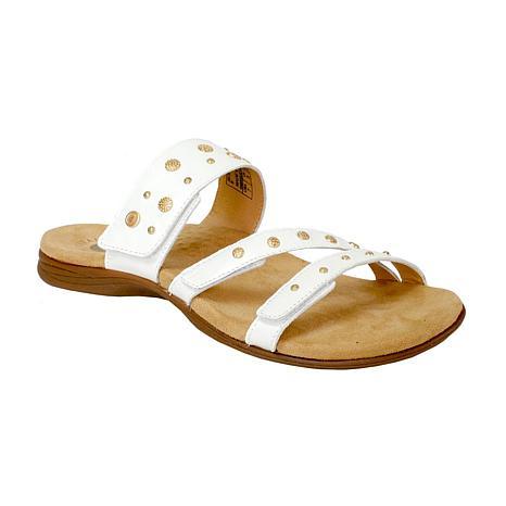 Revitalign Playa Slide Full Grain Leather Sandal