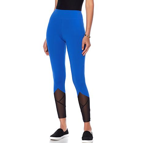 Rhonda Shear Mesh Detail Legging