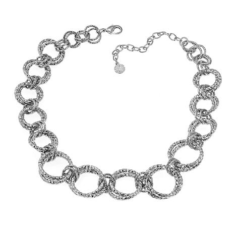 """R.J. Graziano """"Light the Way"""" Circle Link 19"""" Necklace"""