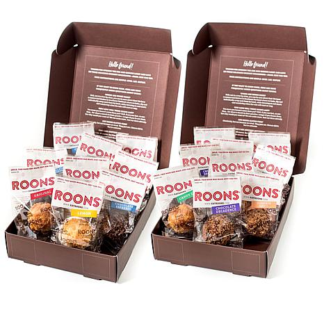 Roons 18-count Classic & Holiday Assorted Coconut Macaroons