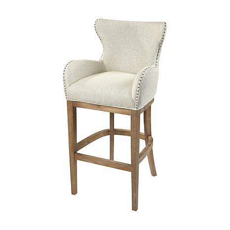 Roxie Linen Bar Chair
