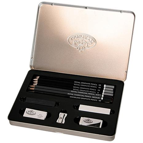 Royal Brush Advanced Sketching Art Set with Tin