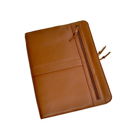 Royce Executive Zip-Around Leather Padfolio