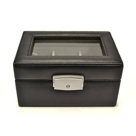 Royce Leather 3 Slot Watch Box