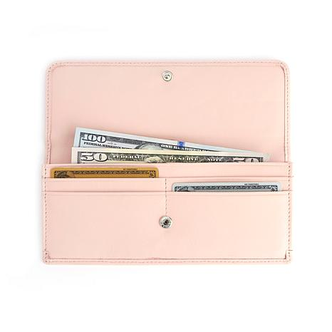 Royce Leather RFID Blocking Clutch Wallet