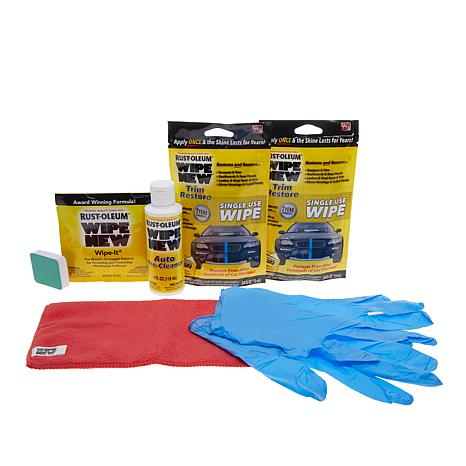 Rust-Oleum Wipe New Auto Restore Kit with Pre-Cleaner