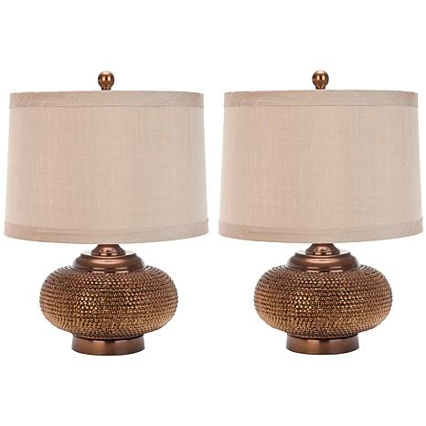 Safavieh Alexis Set of 2 Gold Bead Lamps