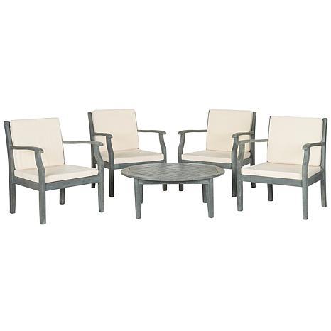 Safavieh Anaheim 5-piece Outdoor Coffee Set