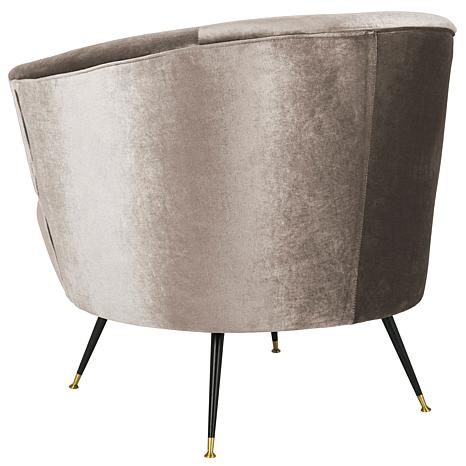 ... Safavieh Arlette Velvet Retro Mid Century Accent Chair ...