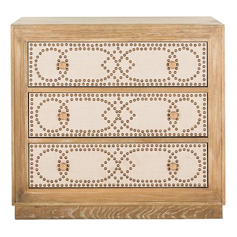 Safavieh Aura 3-Drawer Acacia Chest