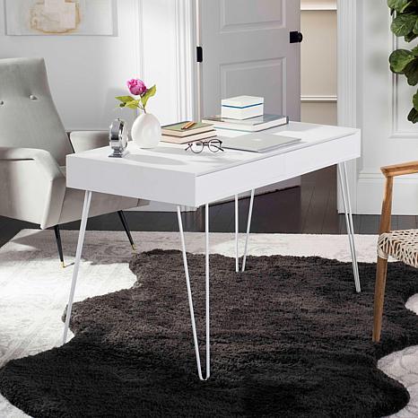 Safavieh Cade Mid-Century Two-Drawer Desk