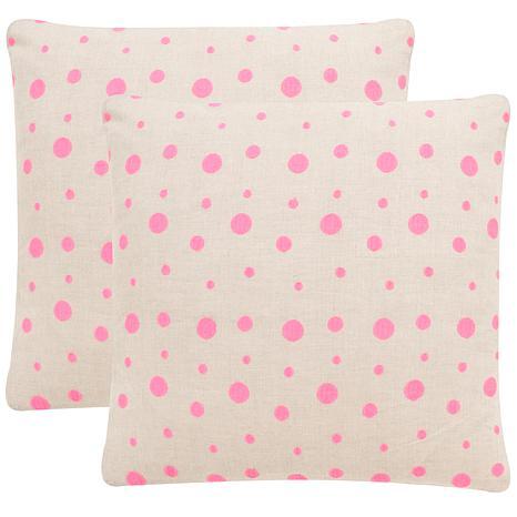 """Safavieh Candy Buttons 20"""" x 20"""" Pillow"""
