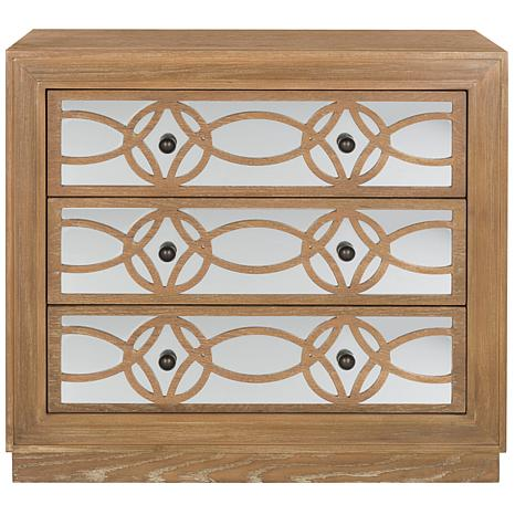 Safavieh Catalina 3-Drawer Acacia Chest