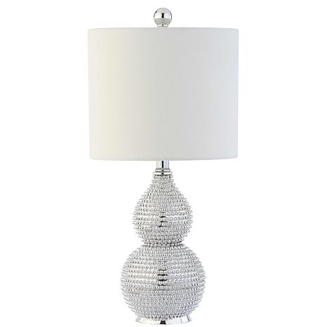 "Safavieh Clarabel Chrome 20"" Table Lamp"